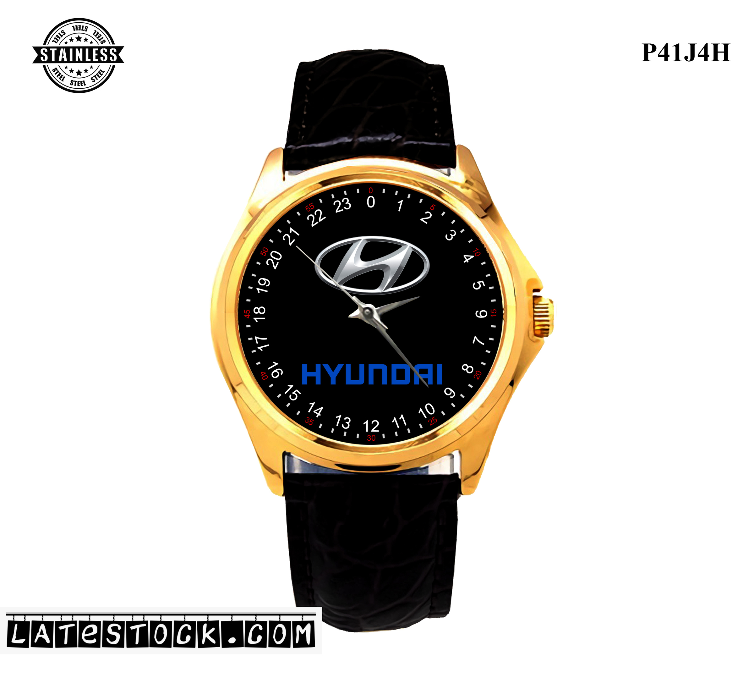 LIMITED EDITION!! Hyundai Logo steel Sport Metal Watch.jpg
