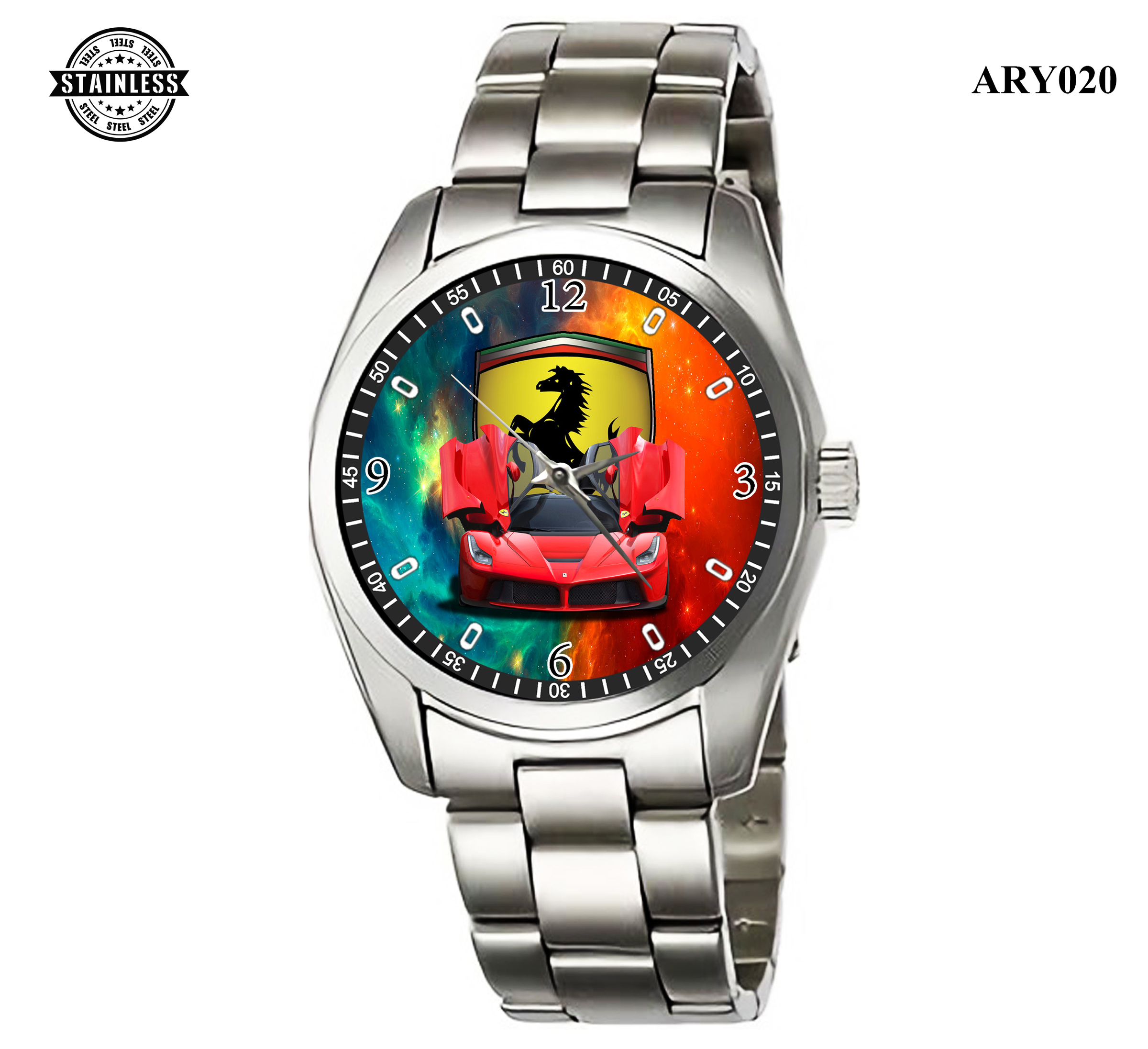 ARY020_Rare Reloj!!Ferrari Men Car_ Sport Metal Waches.jpg