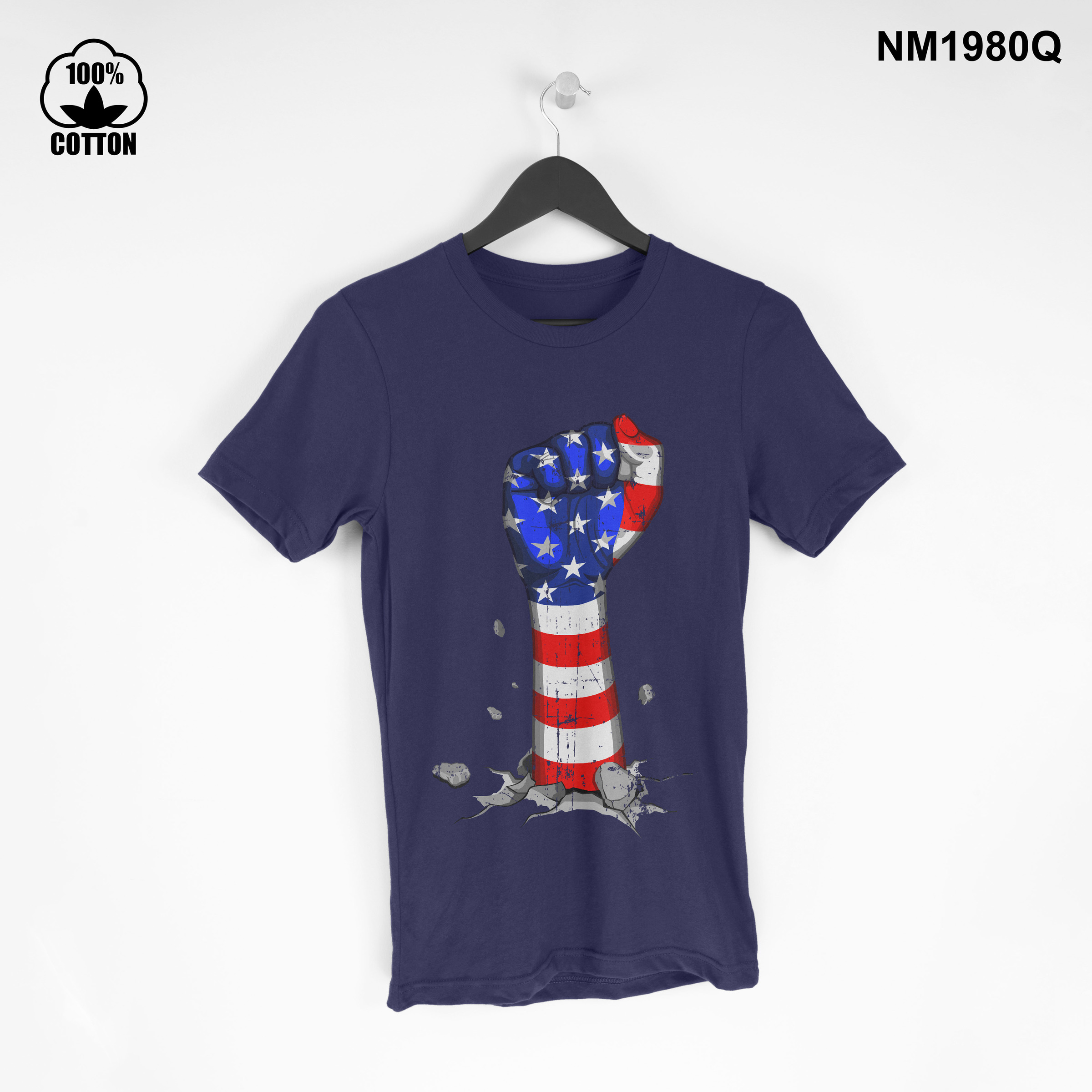 1.3 New Item independence day american Vintage T Shirt tee Unisex Dark Blue.jpg