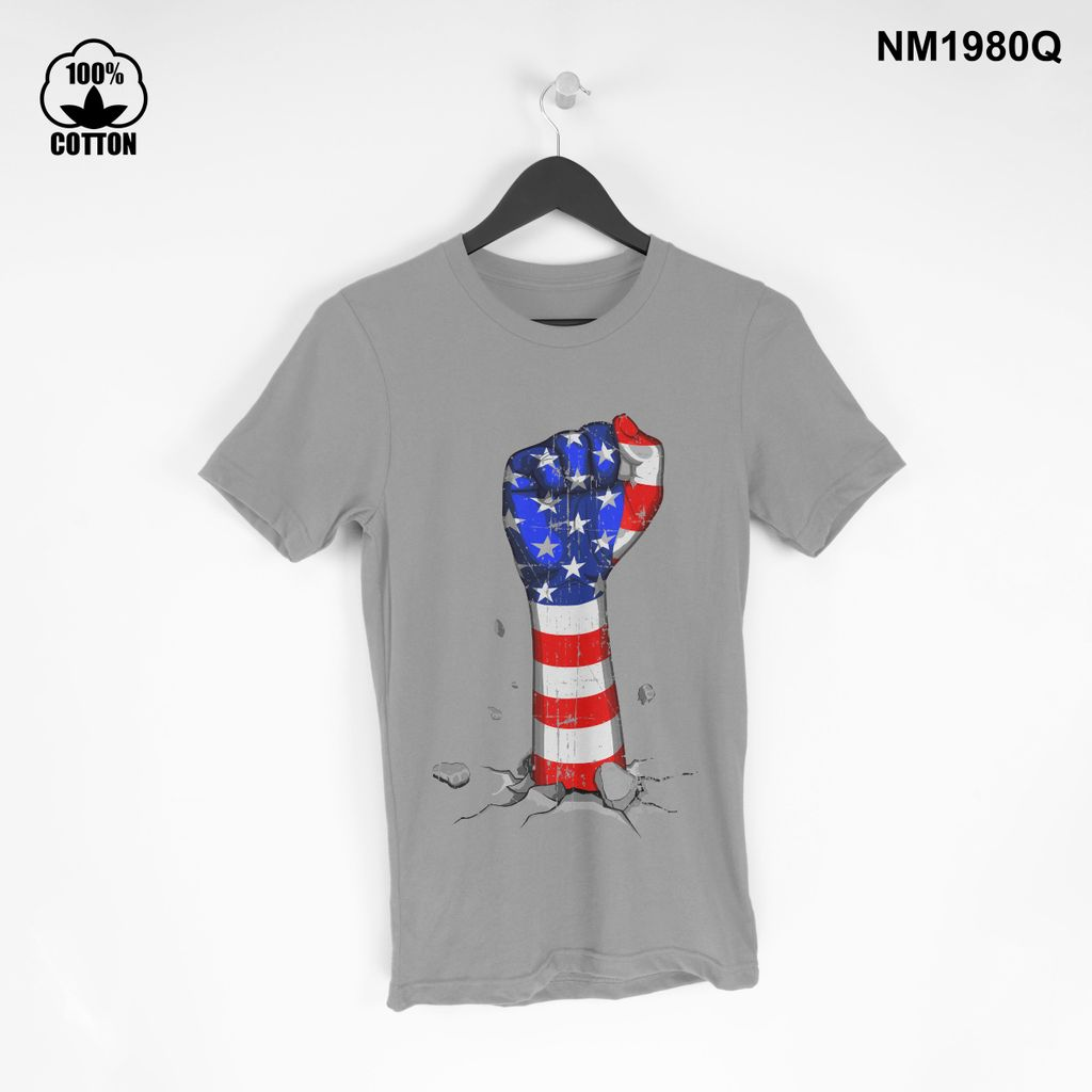 1.3 New Item independence day american Vintage T Shirt tee Unisex Gainsboro.jpg