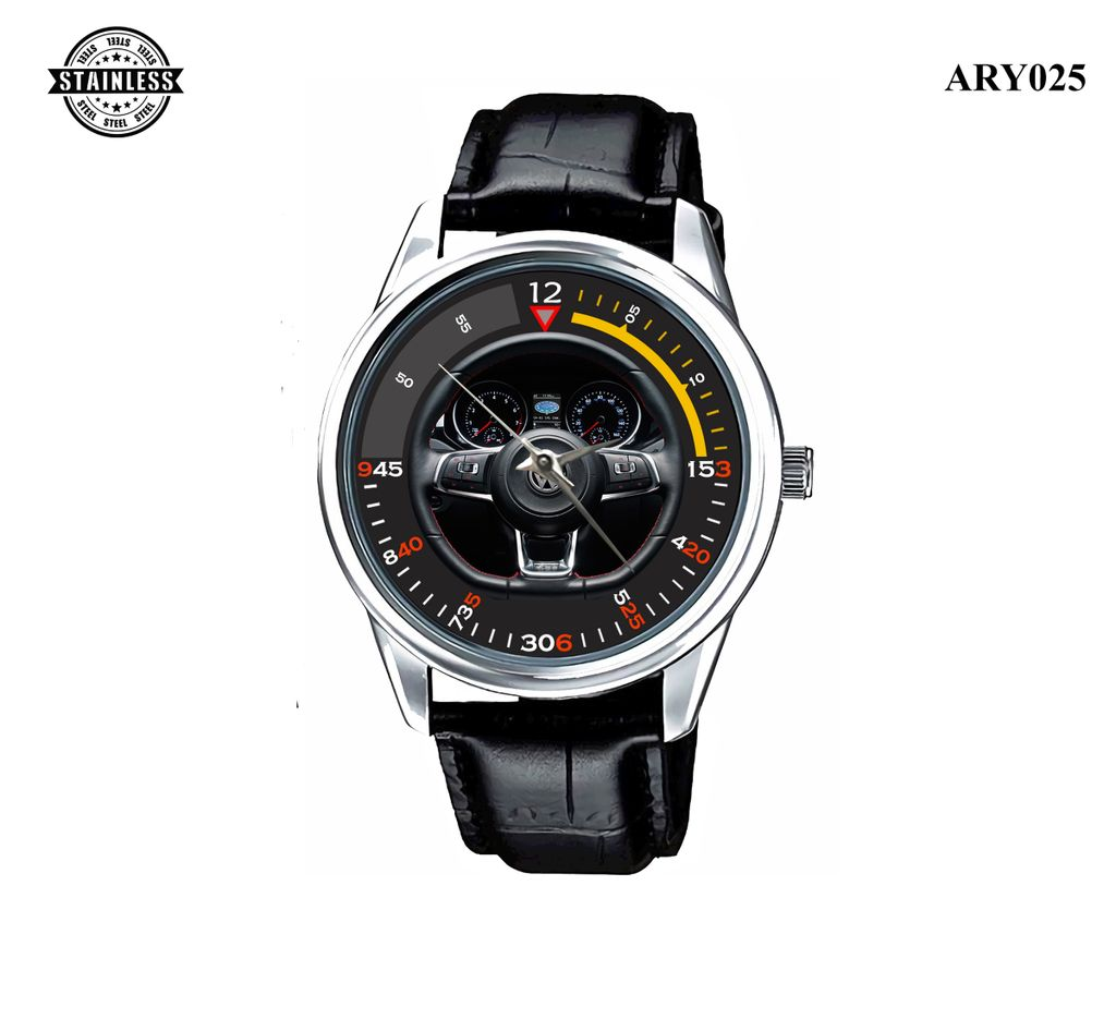 ARY025 3 Special Edition VW GTI adidas Steering Wheel Stainles.jpg