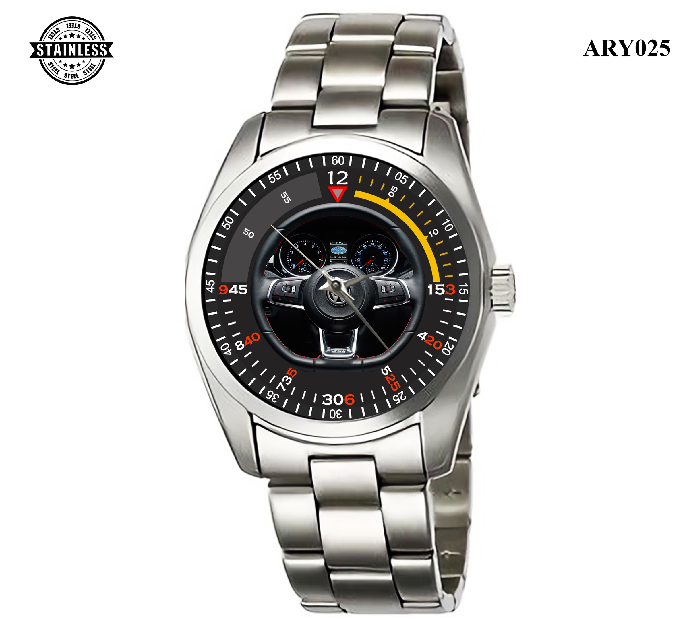 ARY025 Special Edition VW GTI adidas Steering Wheel Stainles.jpg