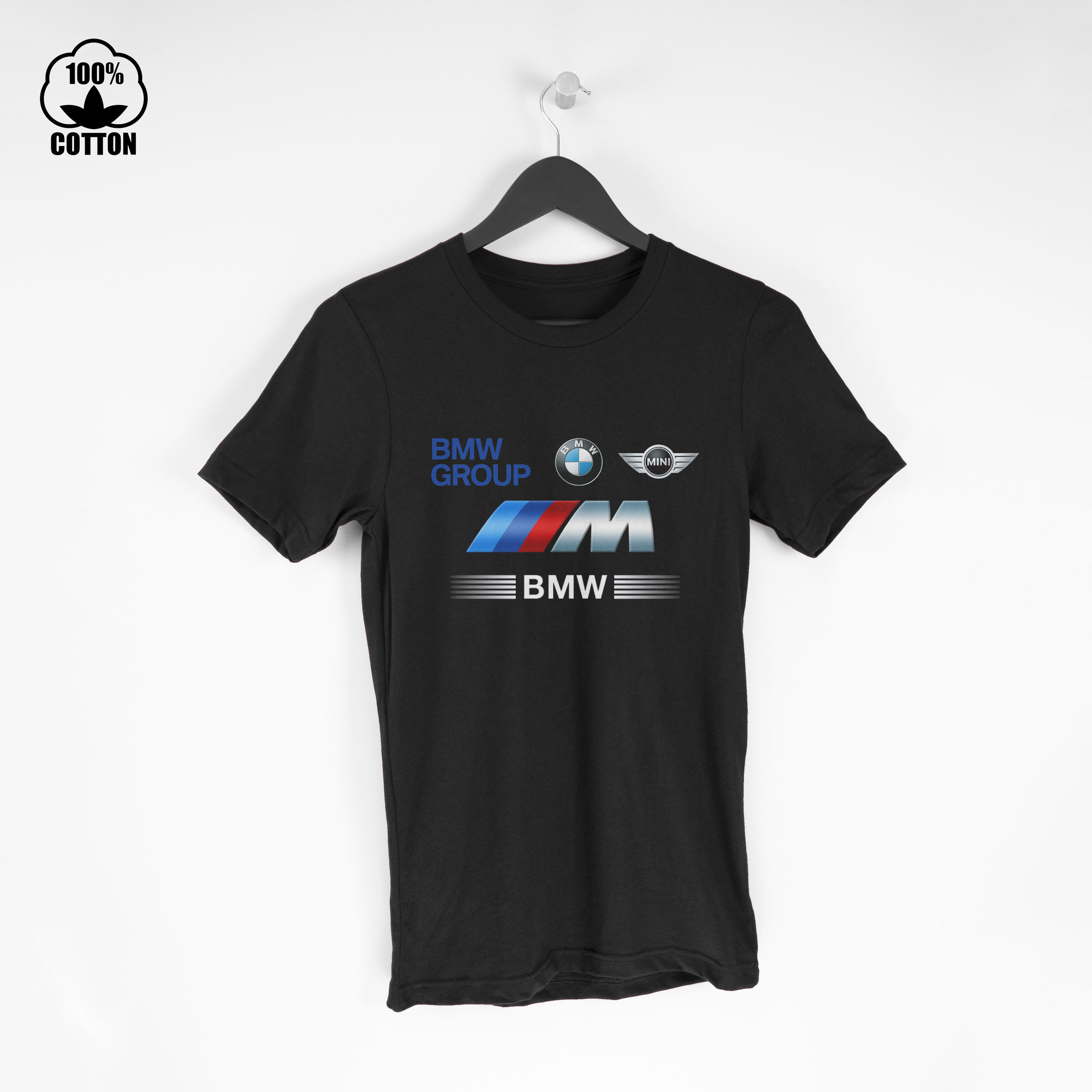Bmw Grup, Bmw Logo, Bmw Mini, Bmw M3 Men's T-Shirt Tee Black Short Sleeve j.jpg