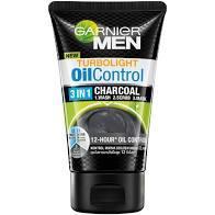 GARNIER MEN OIL CONTROL BLACK CHARCOAL 3 IN 1 FACE WASH 150ML FREE 50%.jpg
