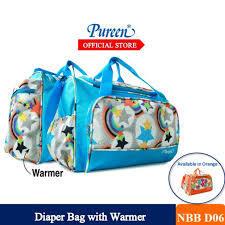 NBBD06 DIAPER BAG WITH WARMER (BLUE ORANGE).jpg