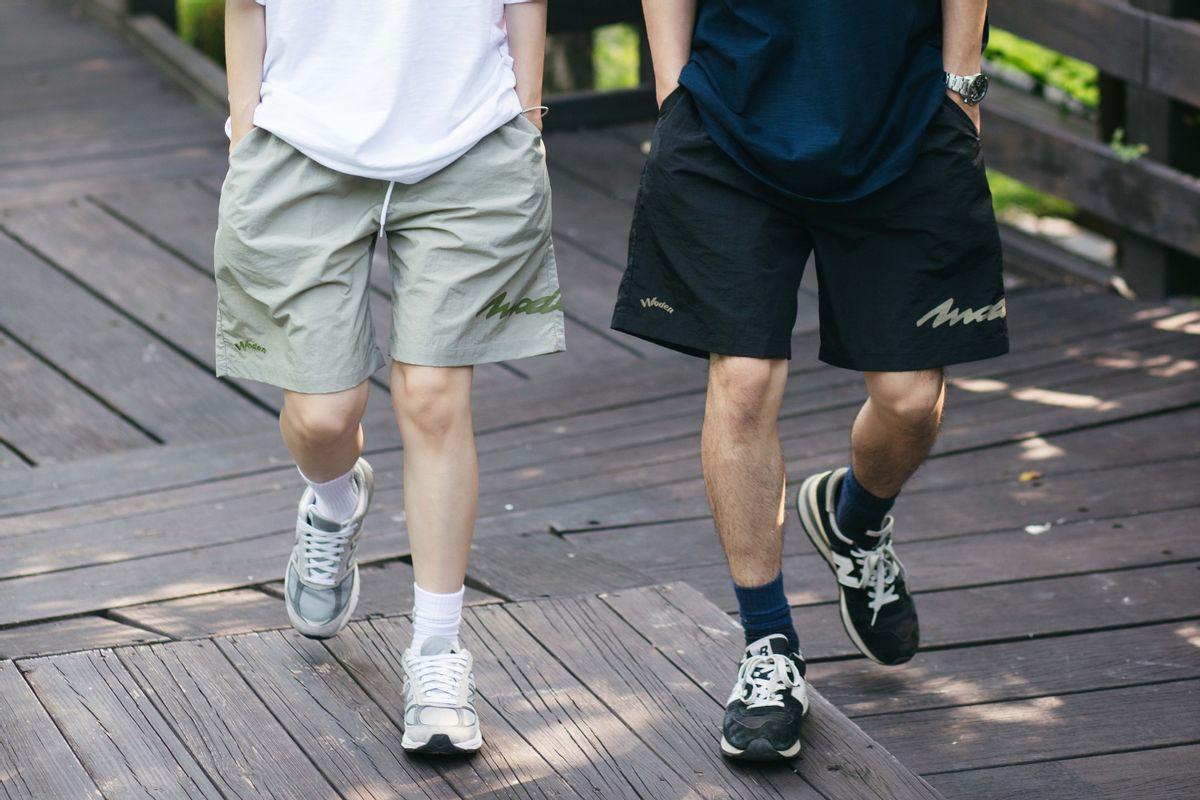 WODEN 2021 Spring & Summer Wrinkle Shorts