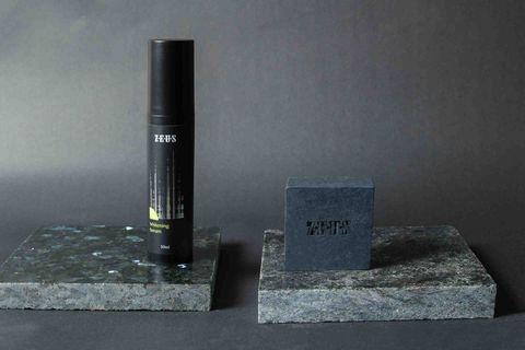 ZEUS男性保養-賦活亮白精華-黑膠原舒敏手工皂