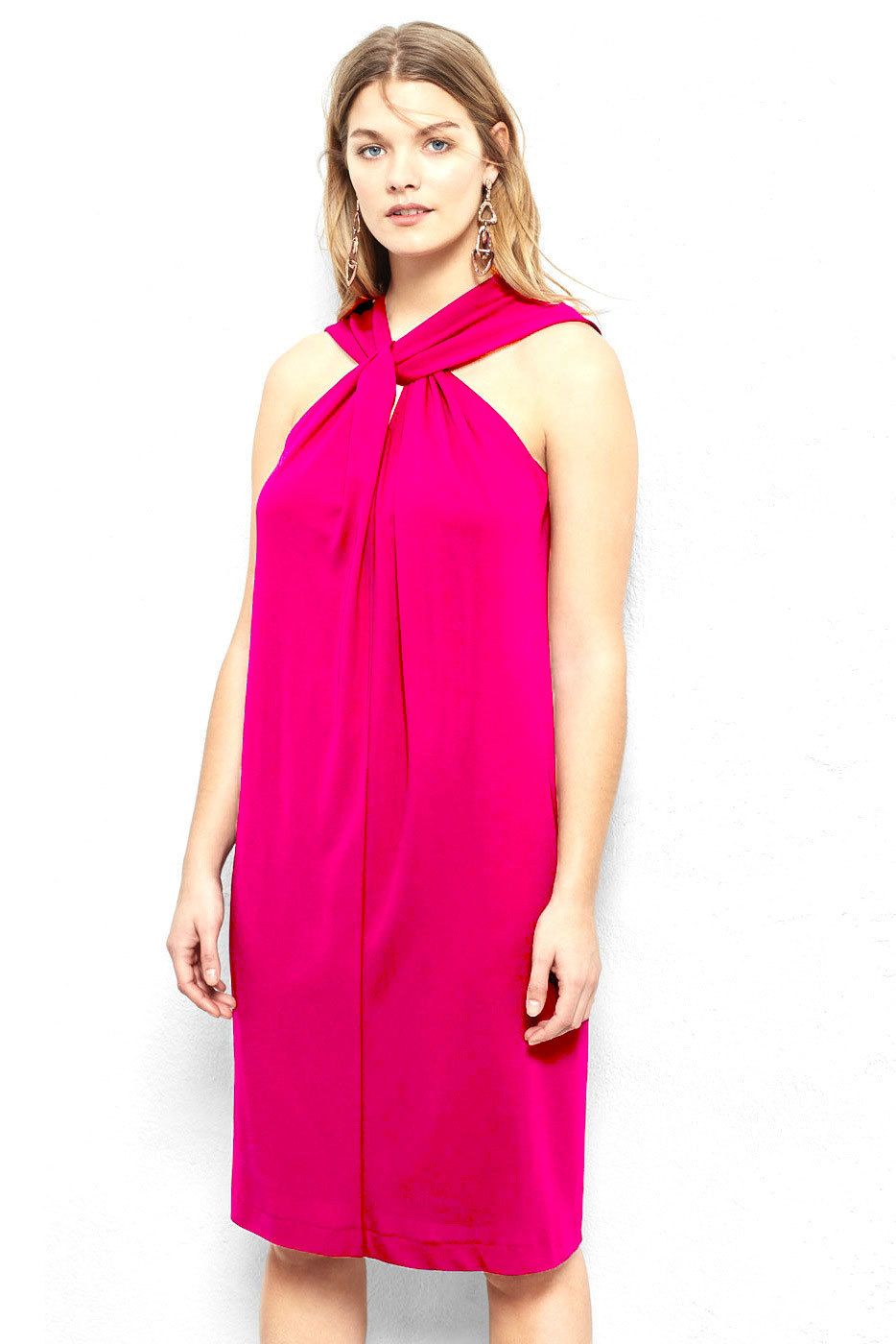 Plus Size Dress Pink