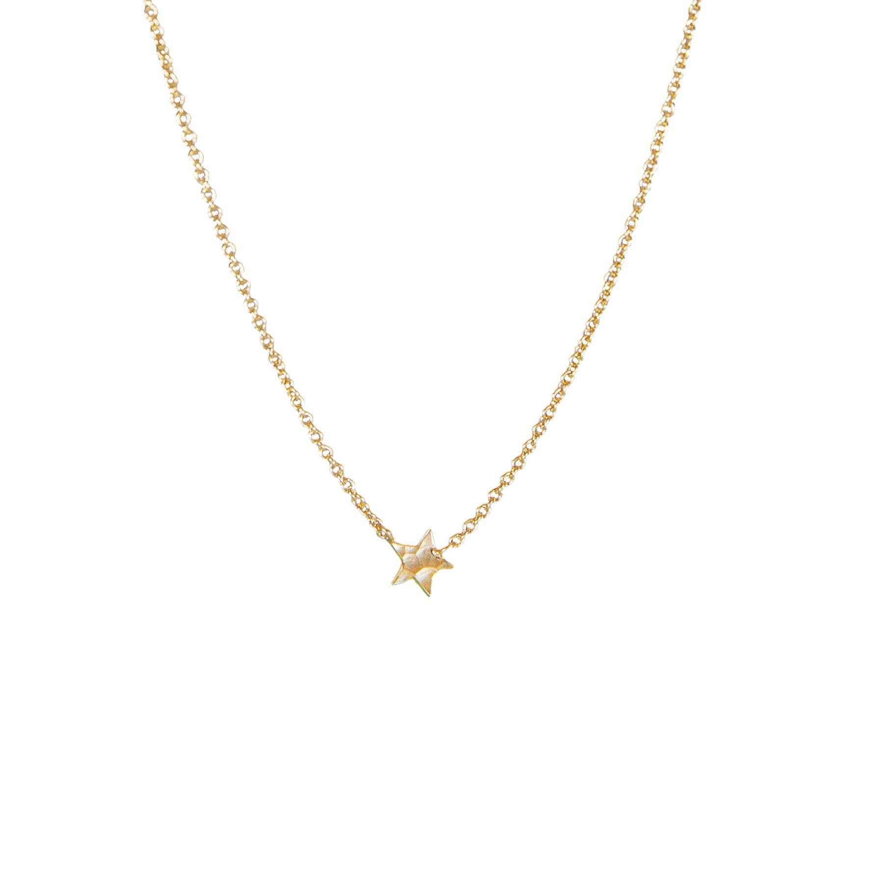 Mini Star Silver Silver 18K Gold Plated Necklace.jpg
