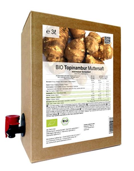 德國有機菊芋酵素原汁3L(超取免運)