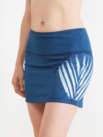 草木染簡約葉裙-藍2.jpg