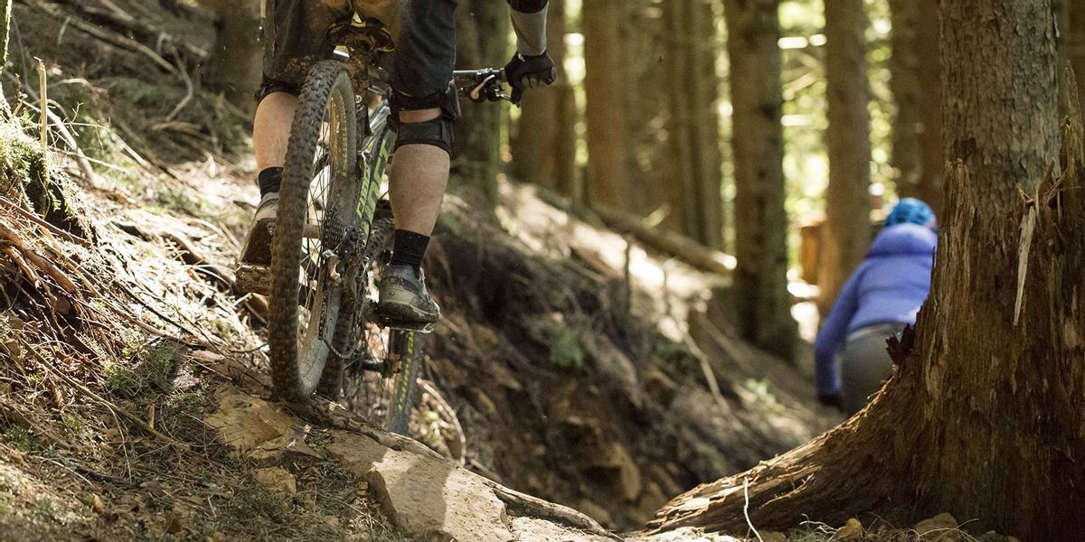 Mountain Biking: How to Ride Off-Camber