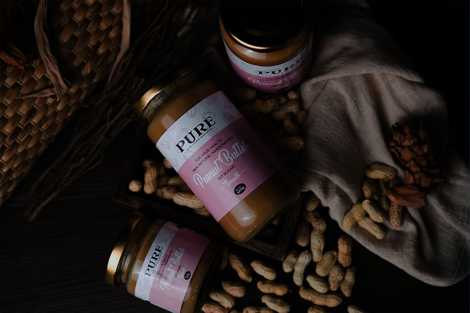 PURE Nut Spreads | Get to the Heart of Nature