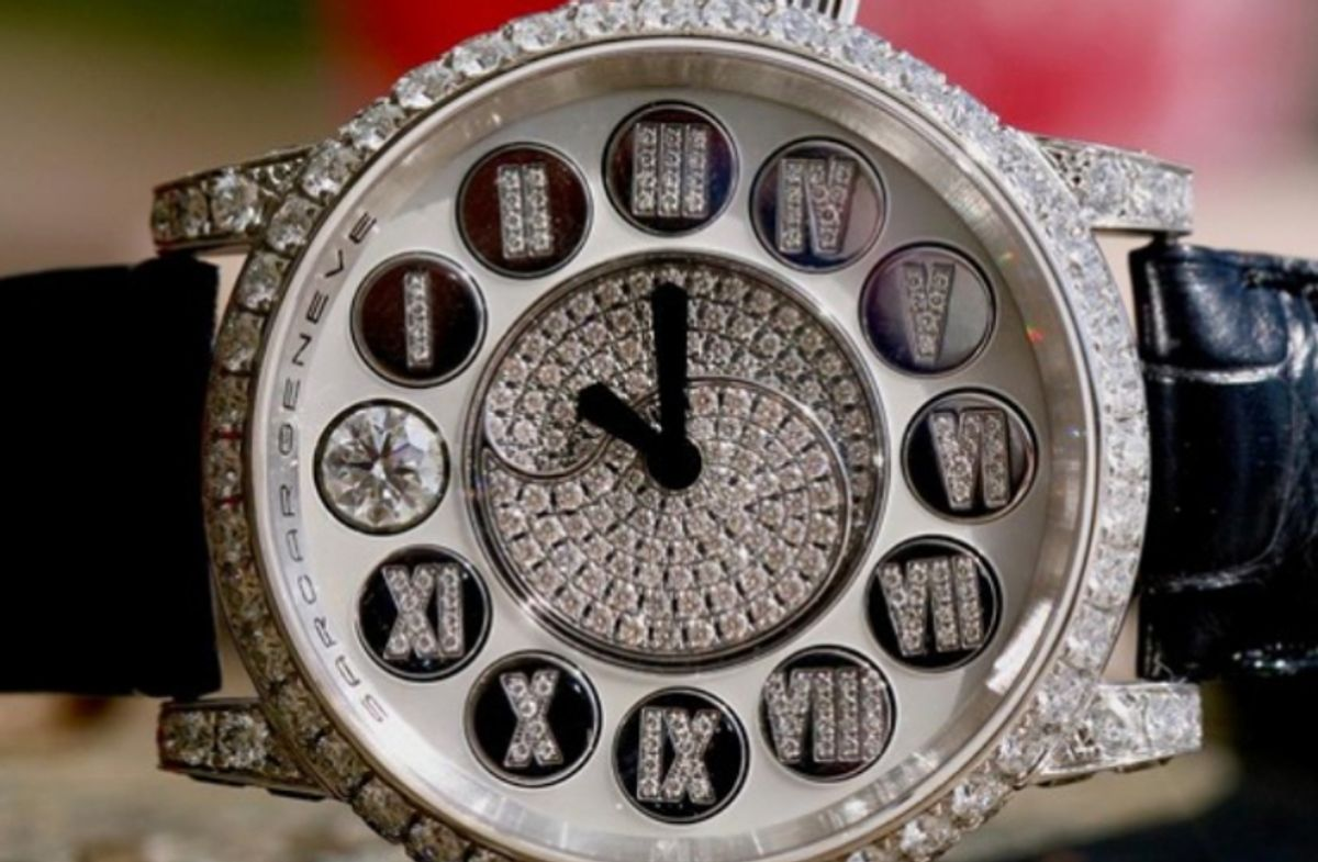 Jewels In Watches: Why They're Not Just For Cosmetics