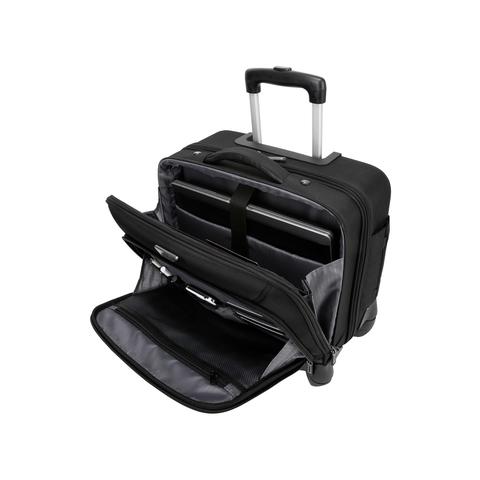 """TBR022-Targus-15.6""""-Mobile-ViP-4-Wheeled-Business-&-Overnight-Roller-(Black)1.jpg"""