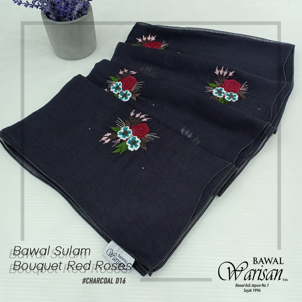 bw sulam bouquet red roses CHARCOAL D16.jpg