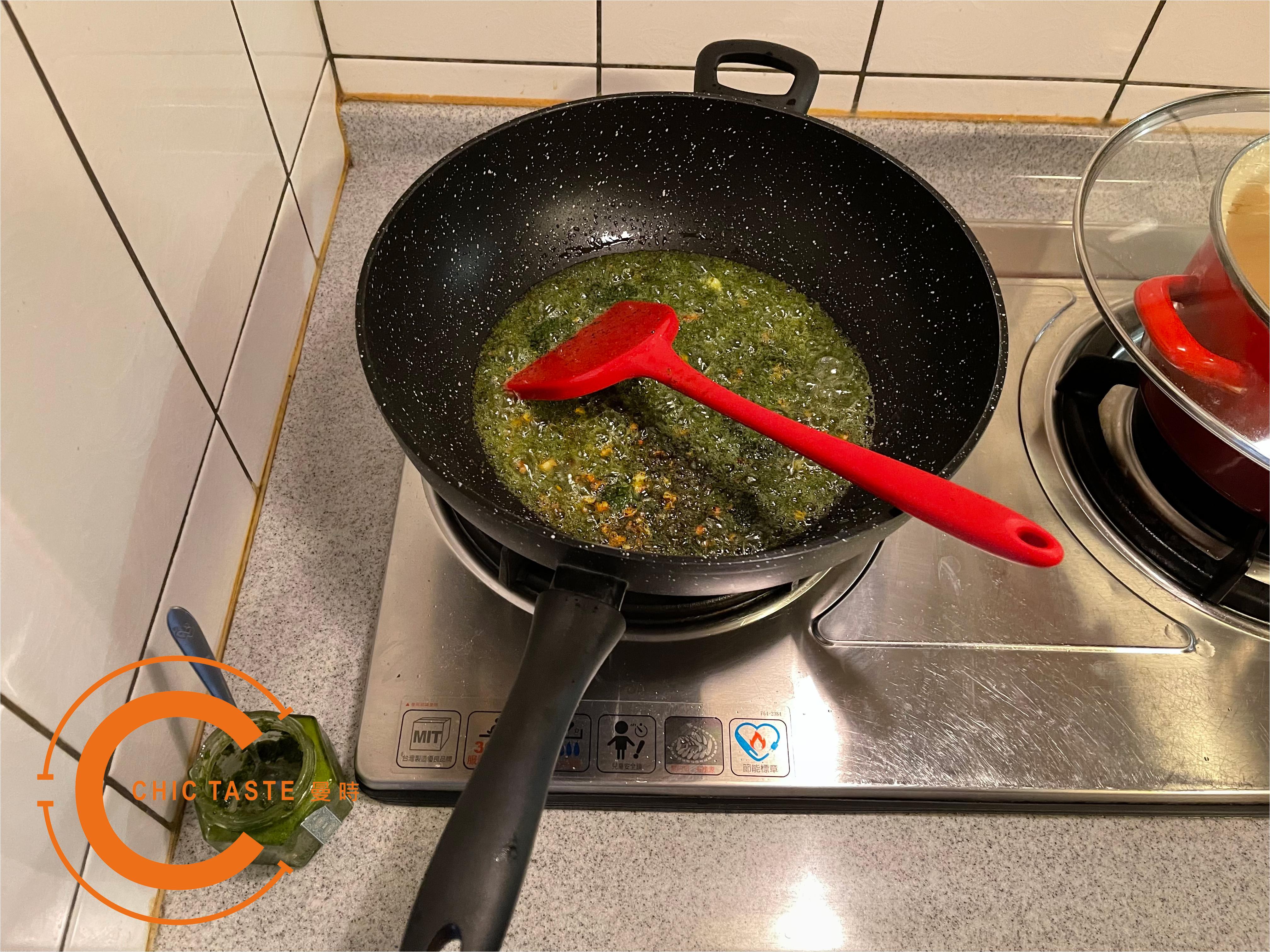 曼時創意食譜-青醬葵菇海鮮燉飯2.jpg
