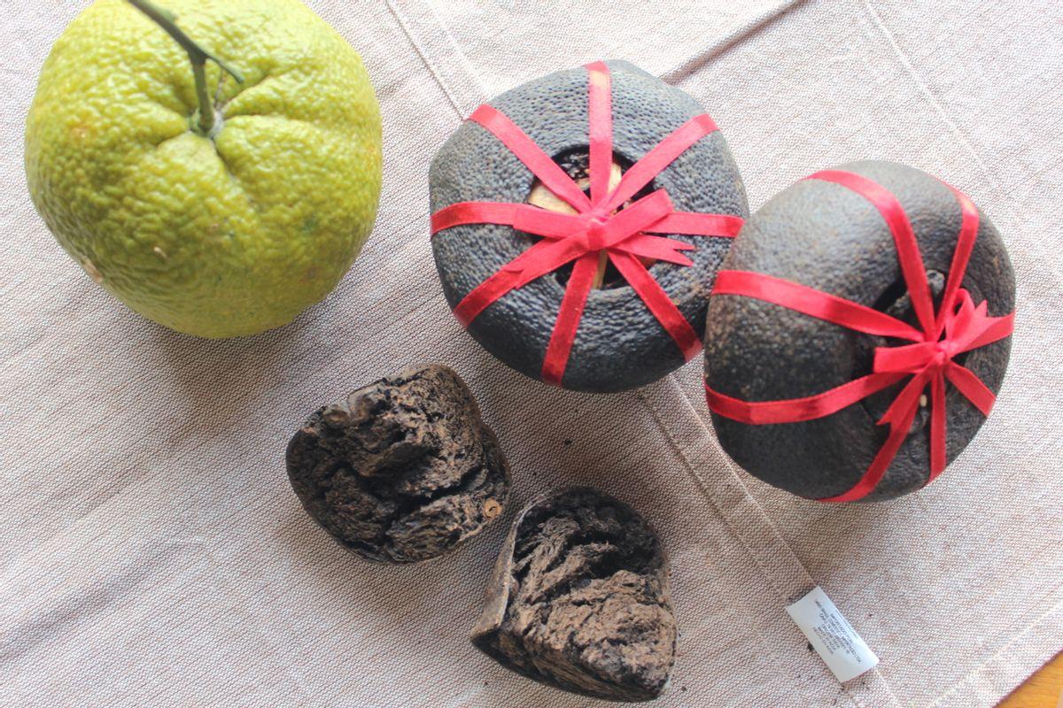 【有好日誌】酸柑茶製作