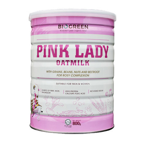 BIOGREEN-Pink Lady Oatmilk (800g)