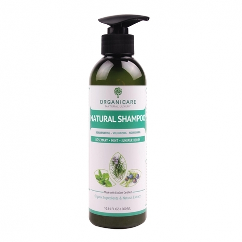 ORGANICARE-Rosemary, Mint & Juniper Berry Natural Shampoo (10.14 fl oz, 300ml)