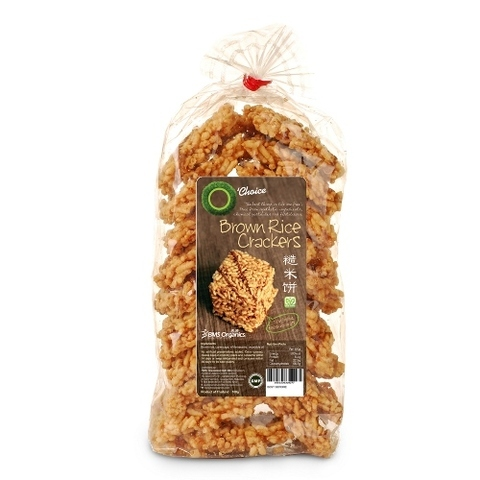 O'CHOICE-Brown Rice Crackers (160g)