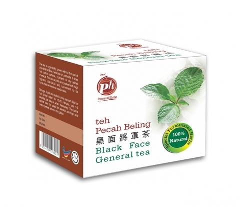 PURE HERBS-Black Face General Tea (30 teabags)