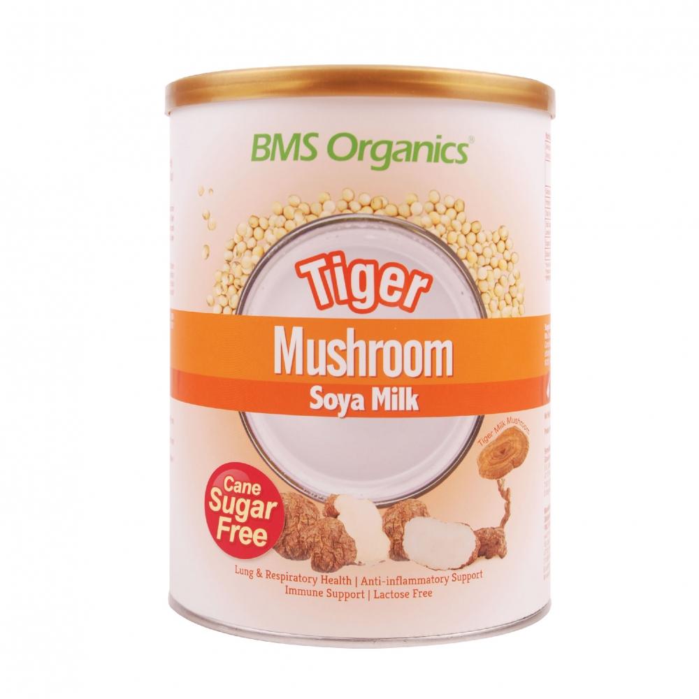 BMS ORGANICS-Tiger Mushroom Soya Milk (Cane Sugar Free) (750g)