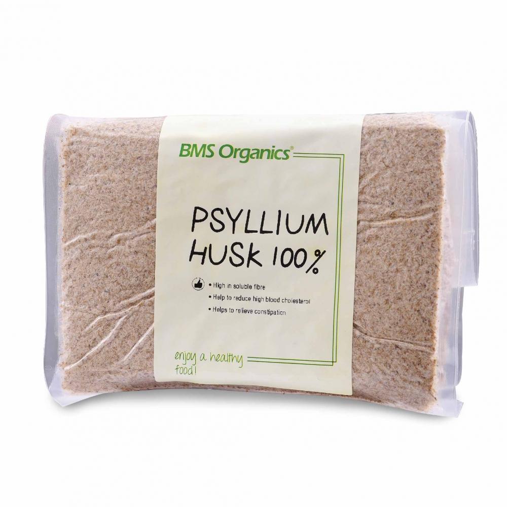 BMS ORGANICS-100% Psyllium Husks (200g)