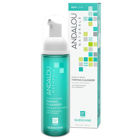 ANDALOU-Coconut Water Firming Cleanser (5.5 fl oz, 163mL)