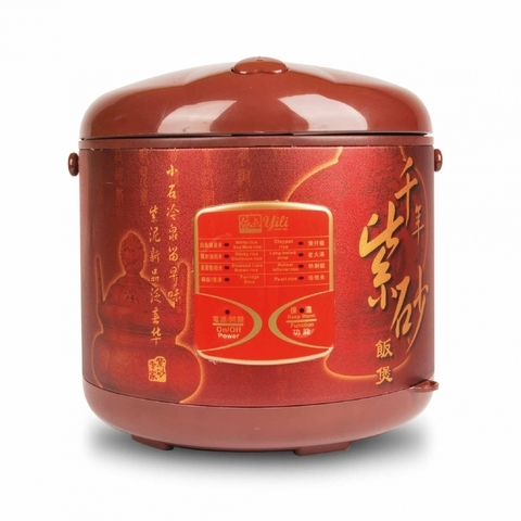 YILI-Purple Clay Rice Cooker (3L)
