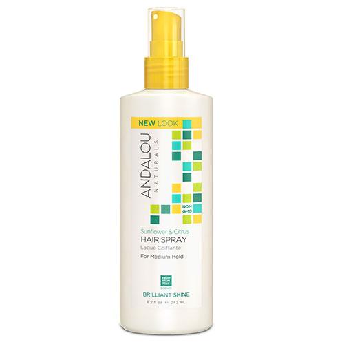 ANDALOU-Sunflower & Citrus Brilliant Shine Hair Spray (242ml)