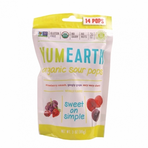 YUMEARTH-Organic Sour Pops (14 units)