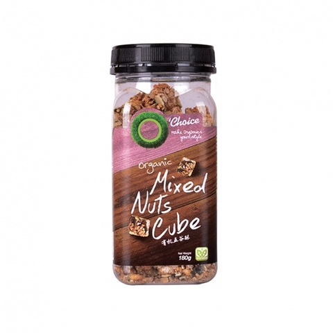 O'CHOICE-Organic Mixed Nuts Cube (180g)