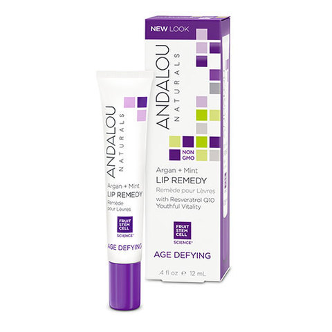 ANDALOU-Argan + Mint Lip Remedy (4 fl oz, 12ml)