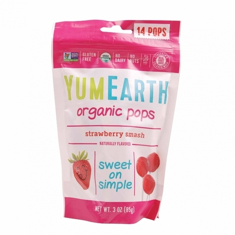 YUMEARTH-Organic Strawberry Smash Pops (14units)