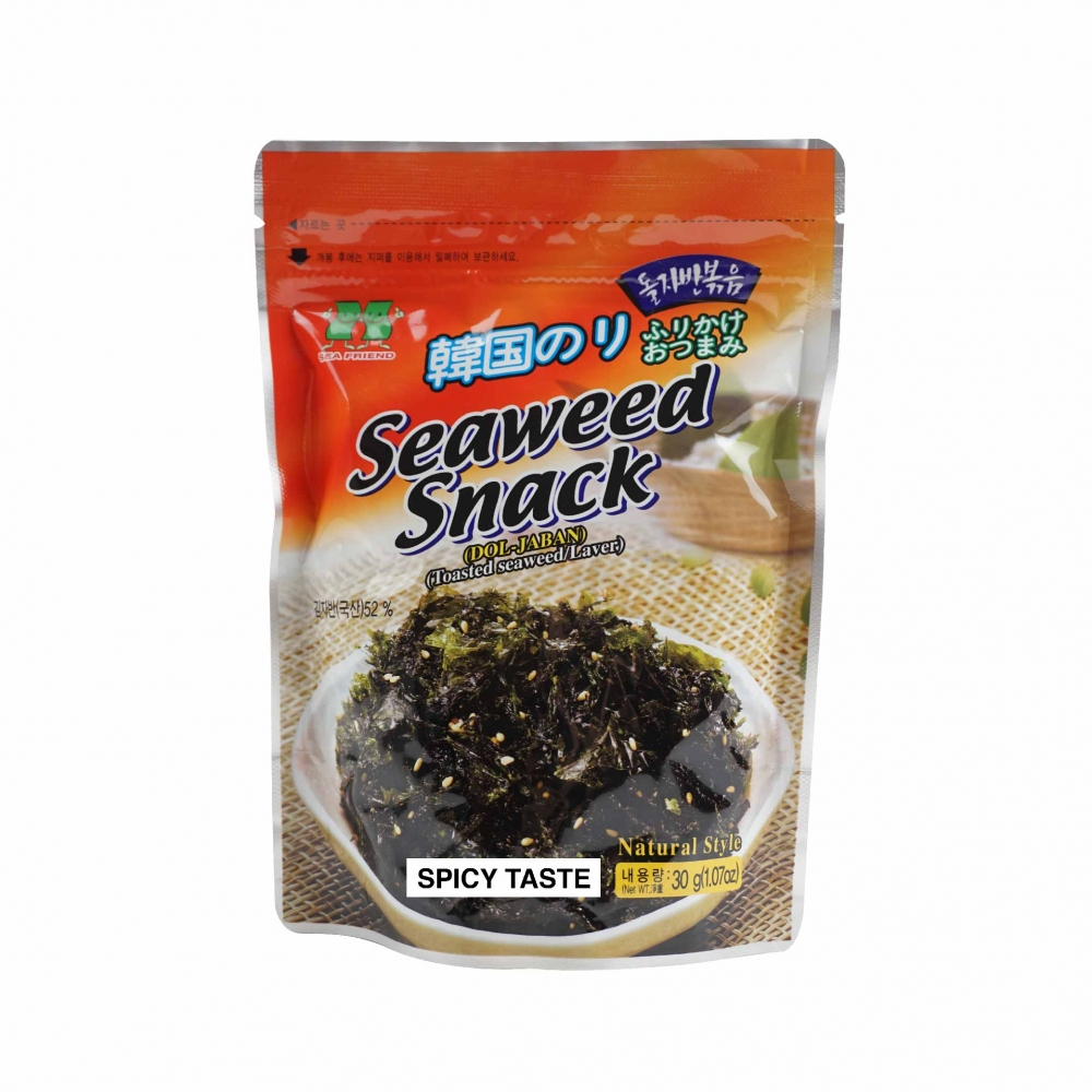 SEA FRIEND-Toasted Seaweed Snack (Spicy) (30g)
