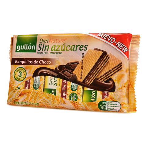 GULLON-Choc Wafer Diet Nature (210g)