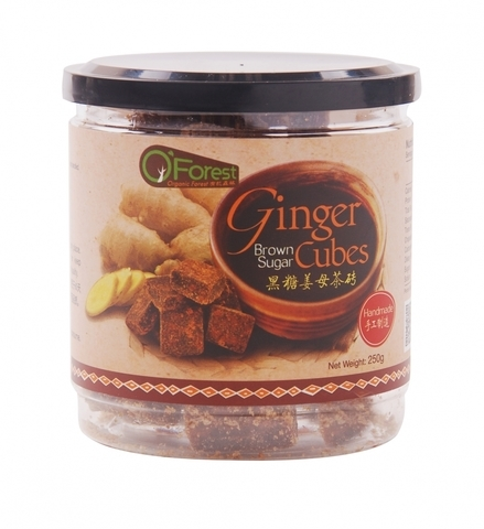 O'FOREST-Ginger Cube with Brown Sugar (Handmade) (250g)