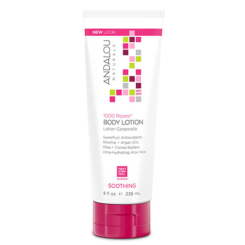 ANDALOU-1000 Roses Soothing Body Lotion (236ml)