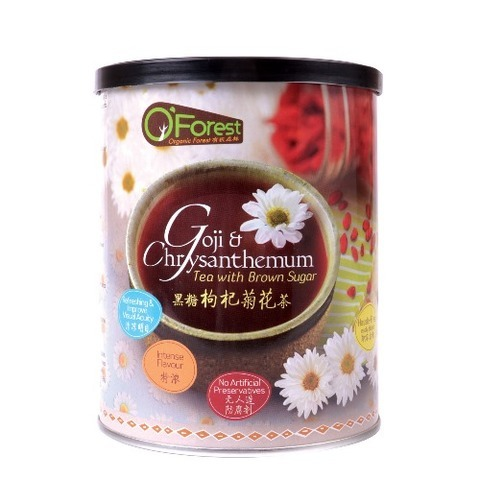 O'FOREST-Goji & Chrysanthemum Tea with Brown Sugar (400g)