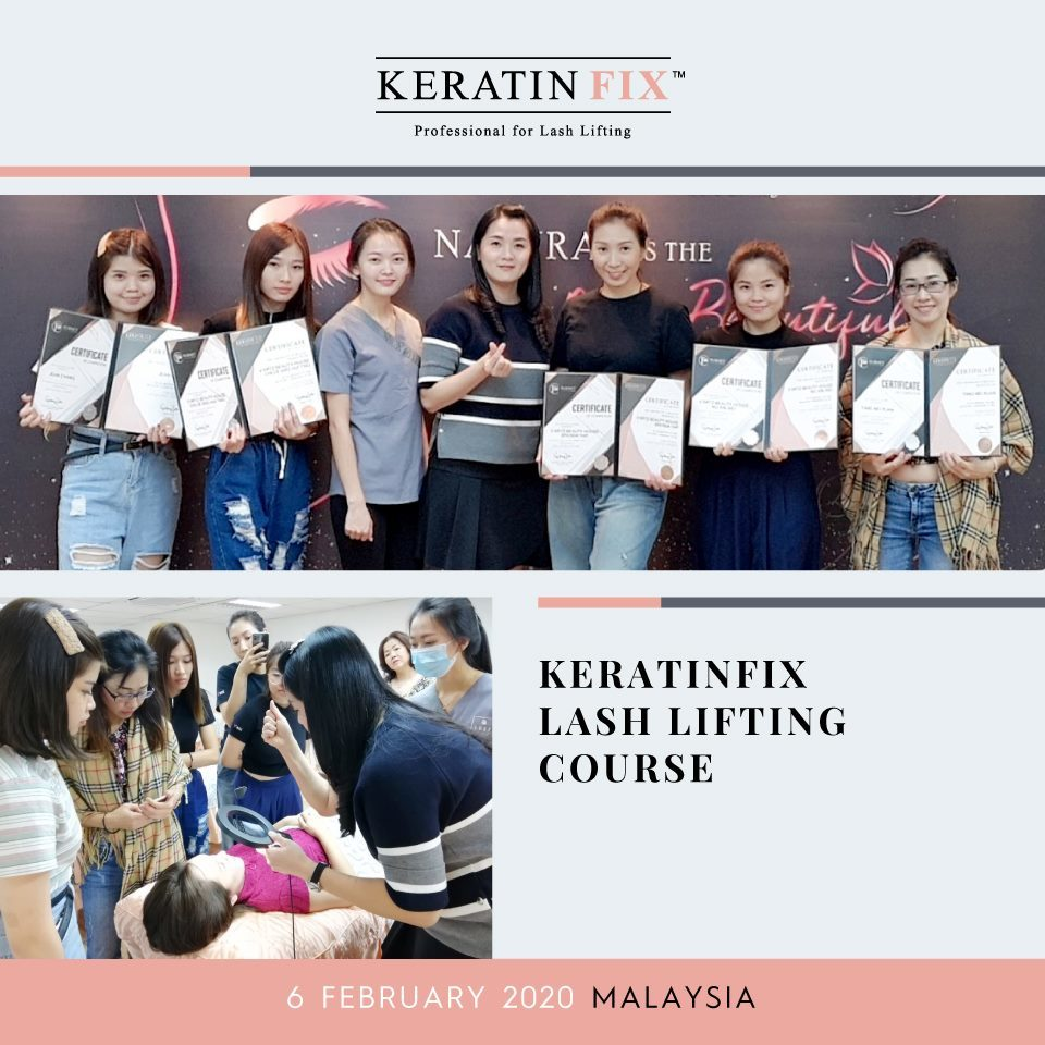 KERATINFIX Lash Lifting Course