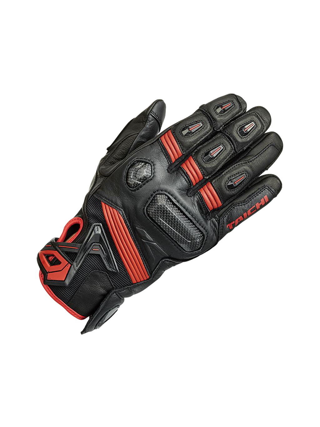 14 RS TAICHI RST441 RAPTOR LEATHER GLOVE black red.png