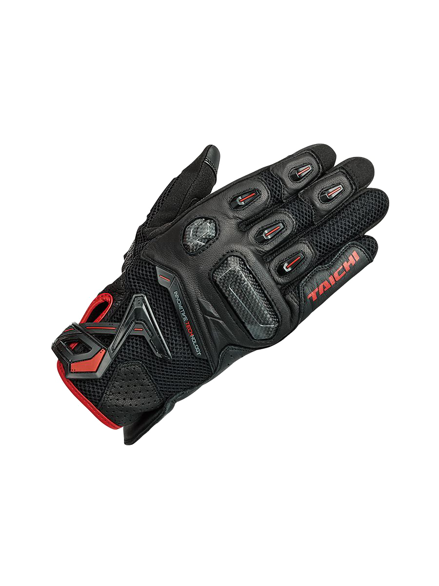22 RS TAICHI RST442 RAPTOR MESH GLOVE black red.png