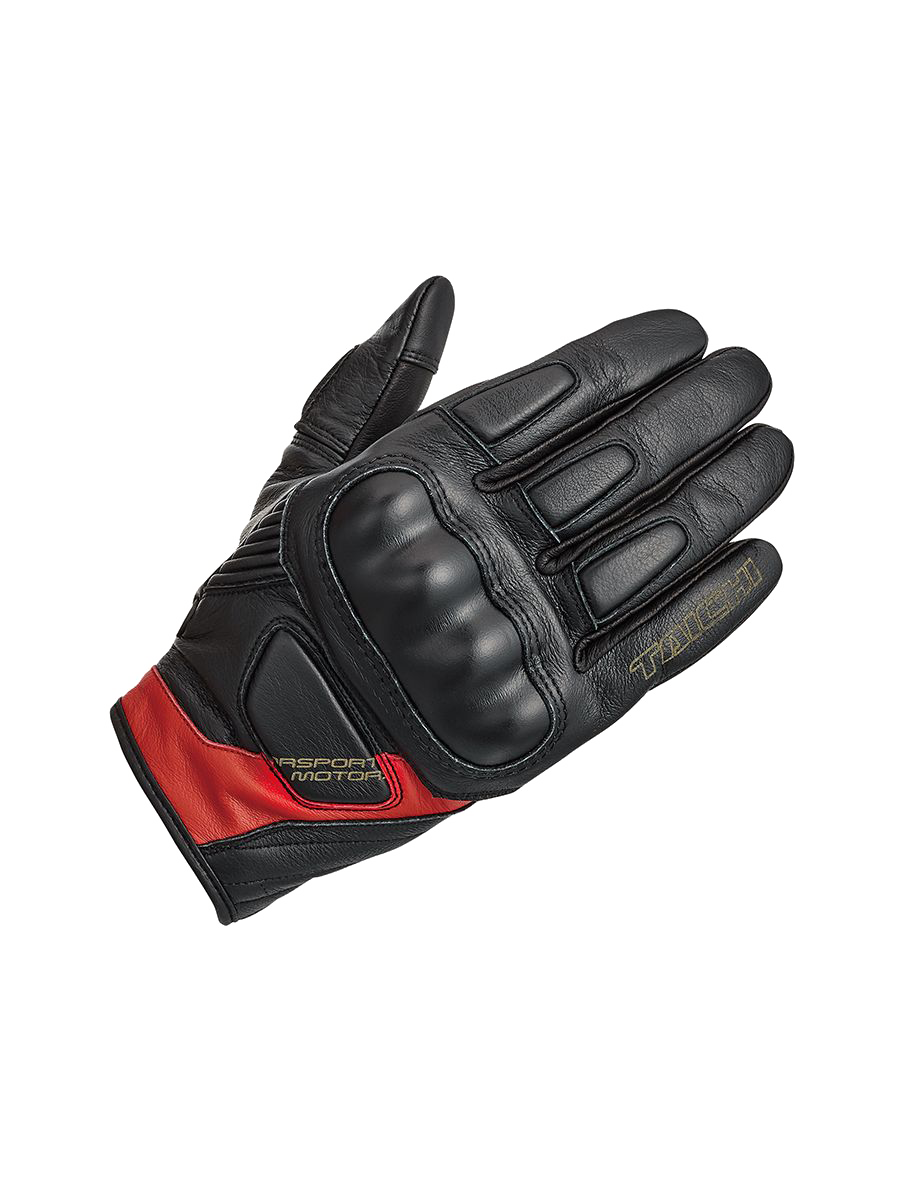 37 RS TAICHI RST445 STEALTH LEATHER GLOVE black red.png