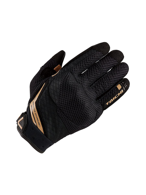 45 RS TAICHI RST447 RUBBER KNUCKLE MESH GLOVE black gold (1).png