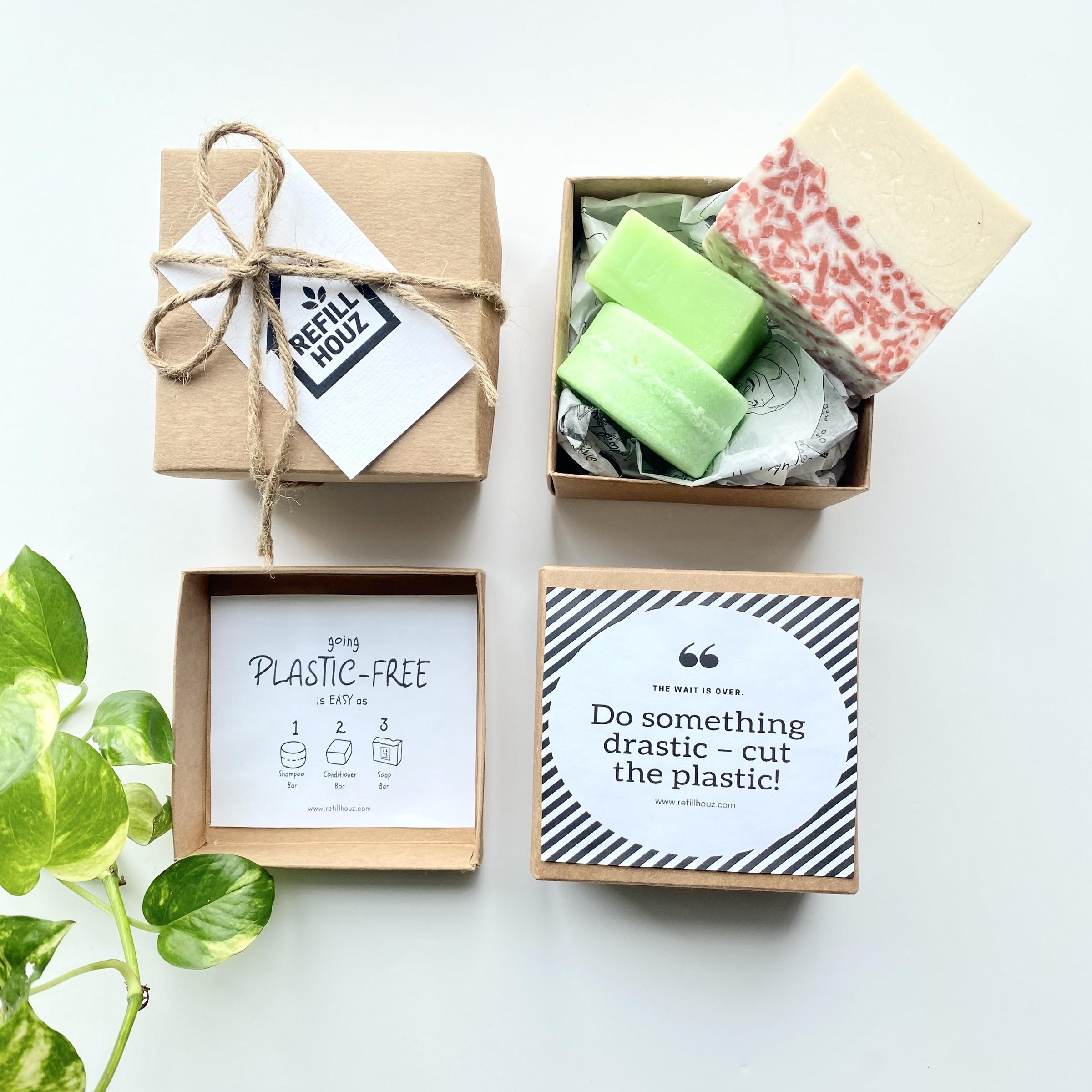 environmental zero waste gift set shampoo bar soap bar gift for him gift for her.jpg