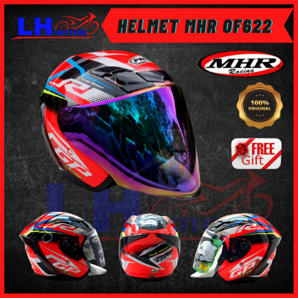 HELMET MHR OF622 YAMAHA RED 4.png