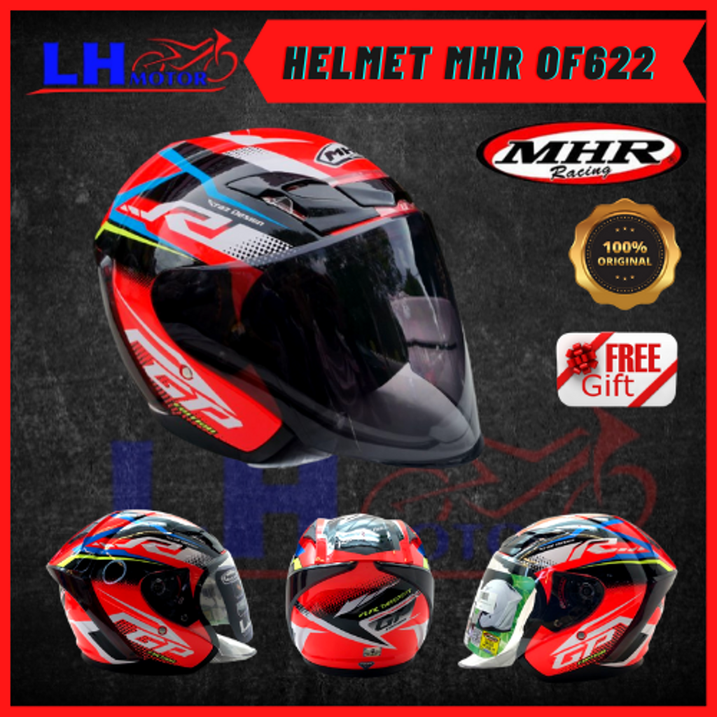 HELMET MHR OF622 YAMAHA RED 3.png