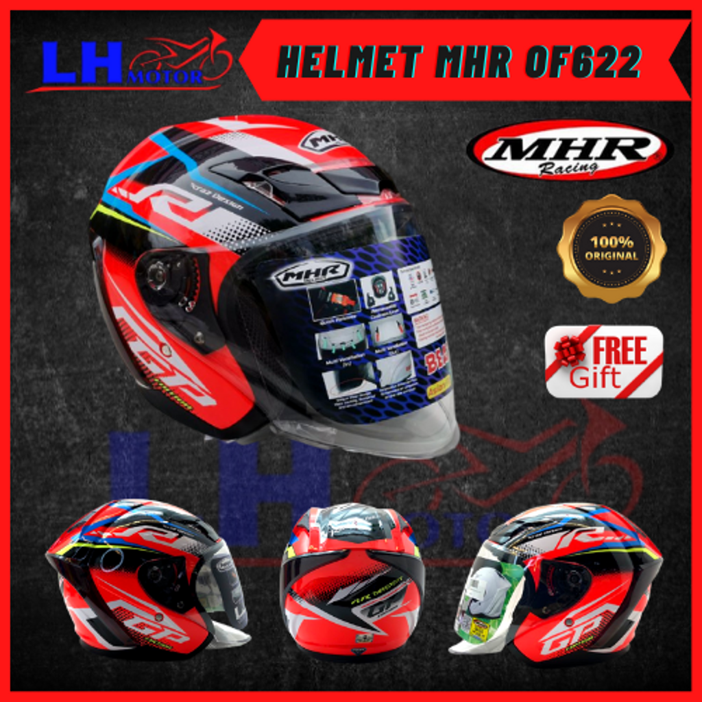 HELMET MHR OF622 YAMAHA RED 2.png