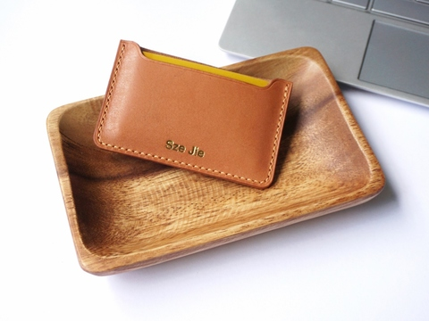 Single Card Holder - Tan (3).jpg